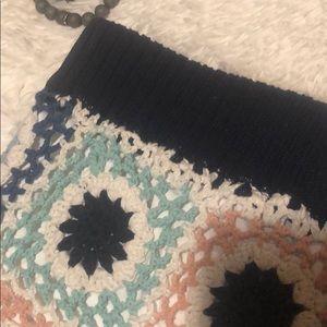 Skirts - Boho crochet mini skirt